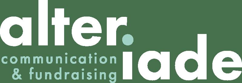 logo alteriade agence de communication et de fundraising